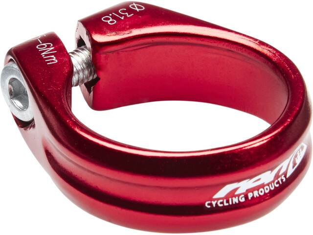 Red Cycling Products Seat Clamp Ø31,8mm for shaft coupling, red